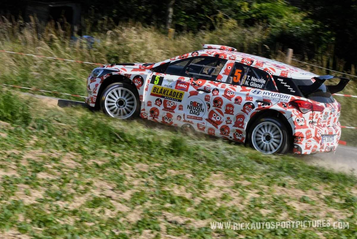 Thierry Neuville Ypres Ieper Rally 2018