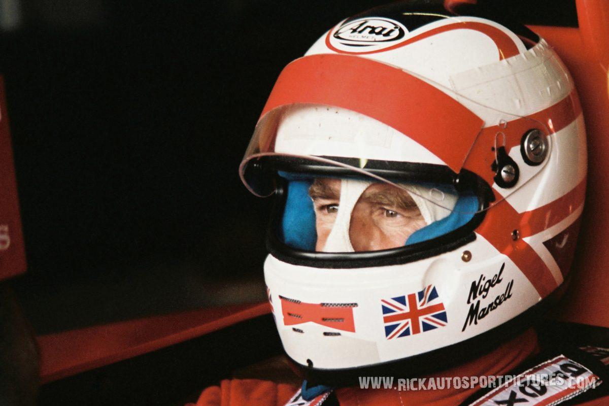 Nigel Mansell Silverstone 1990