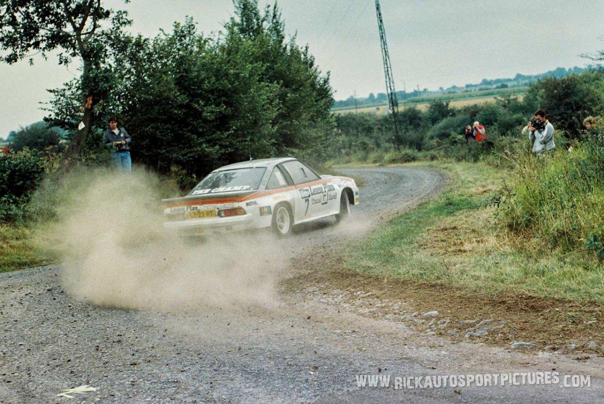 Jan van der Marel, Bianchi Rally 1986