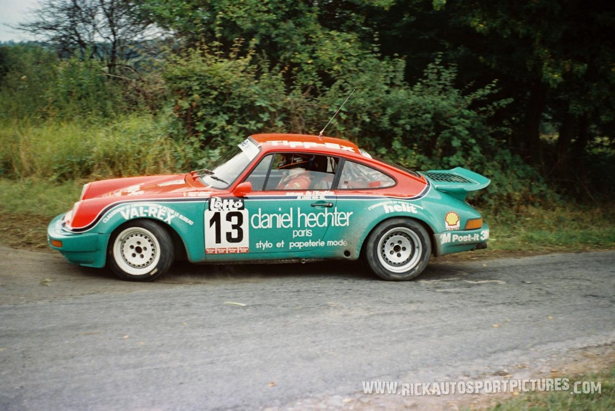 Marc Soulet Bianchi Rally 1986
