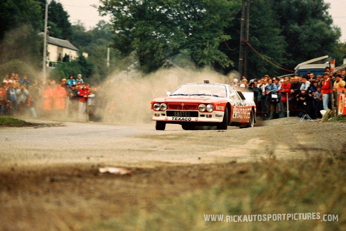 Patrick Snijers Bianchi Rally 1986