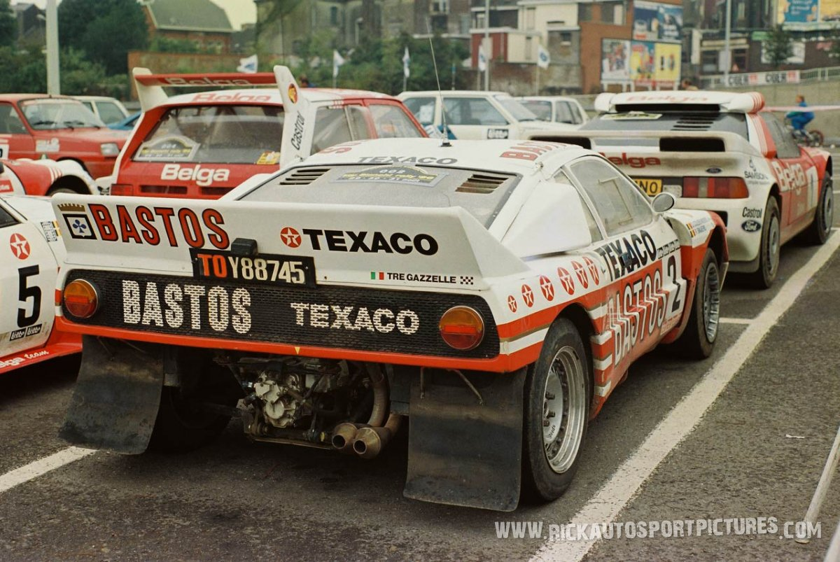 Tre Gazzelle Lancia 037 Bianchi Rally 1986