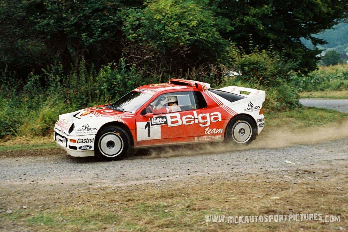 Robert Droogmans Bianchi Rally 186