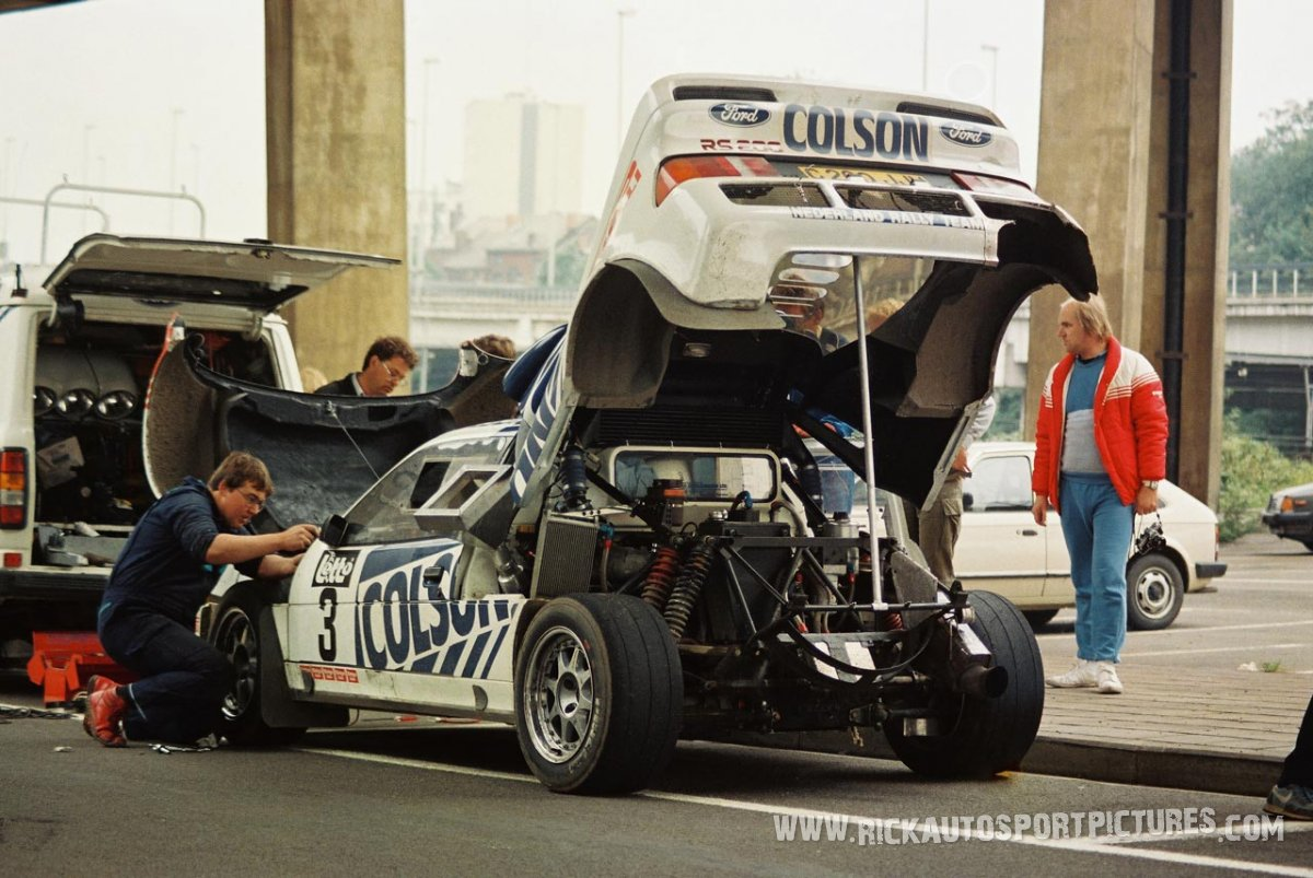 Team Ford Nederland Bianchi Rally 1986