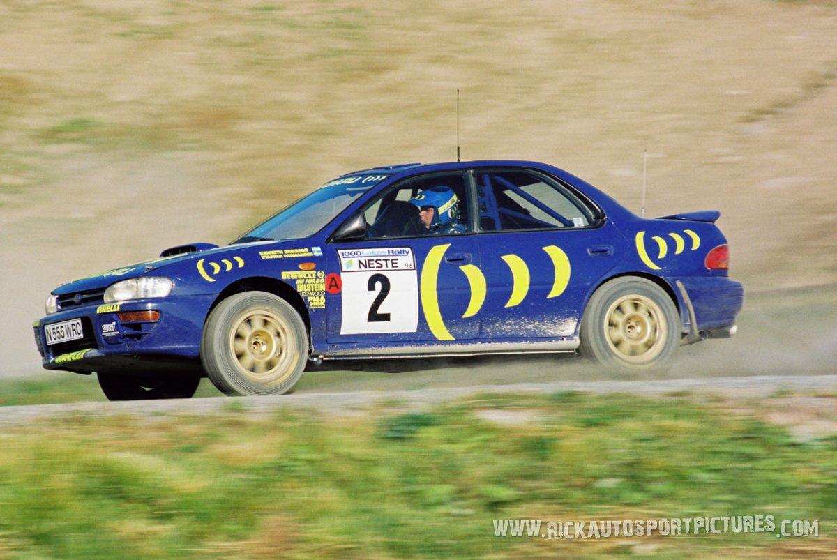 Kenneth Eriksson 1000 Lakes 1996