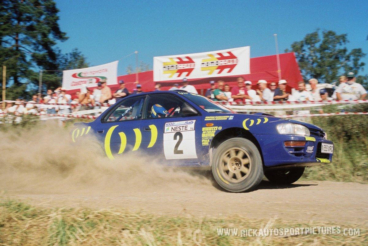 Kenneth Erriksson 1000 Lakes 1996