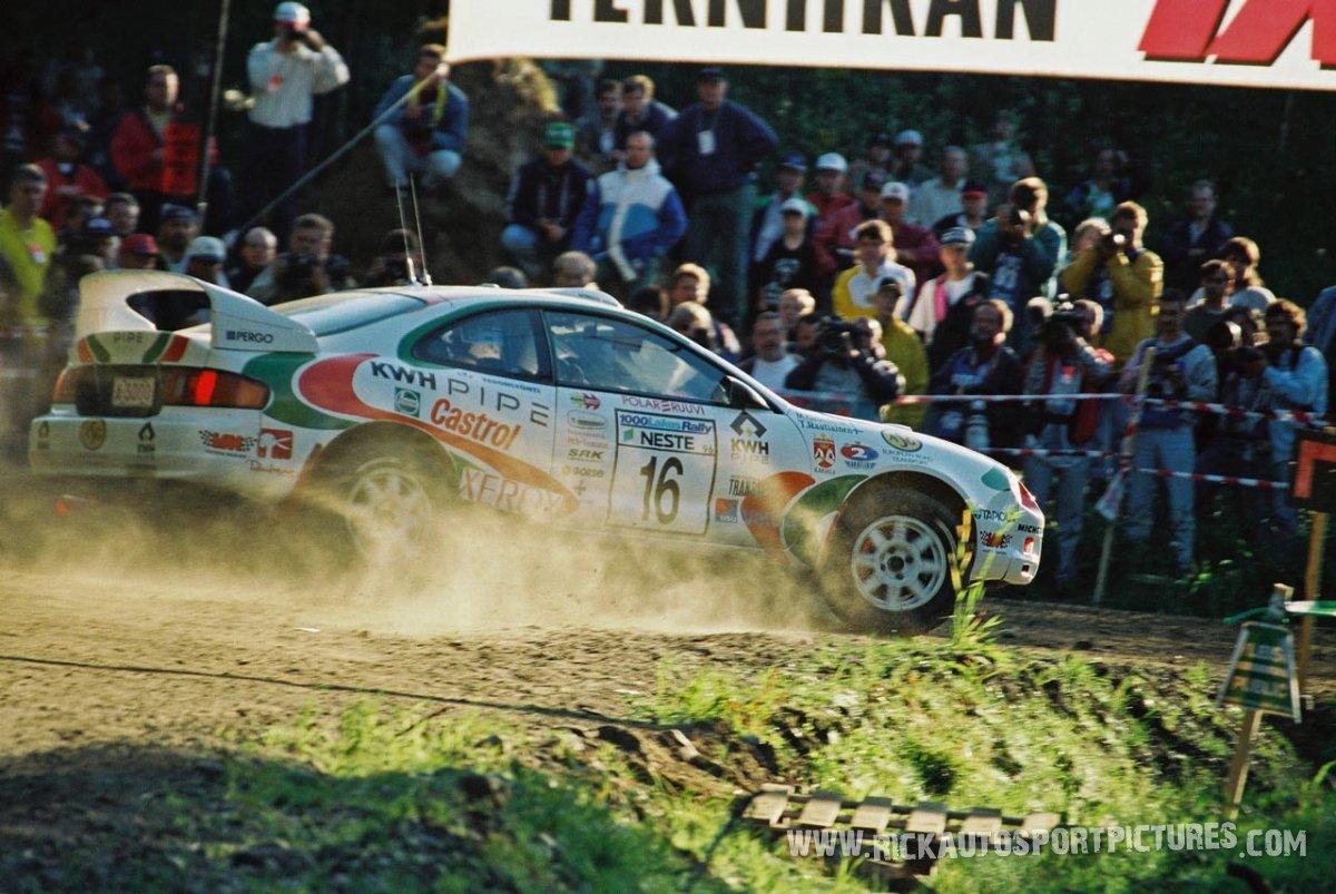 Marcus Grönholm 1000 Lakes 1996