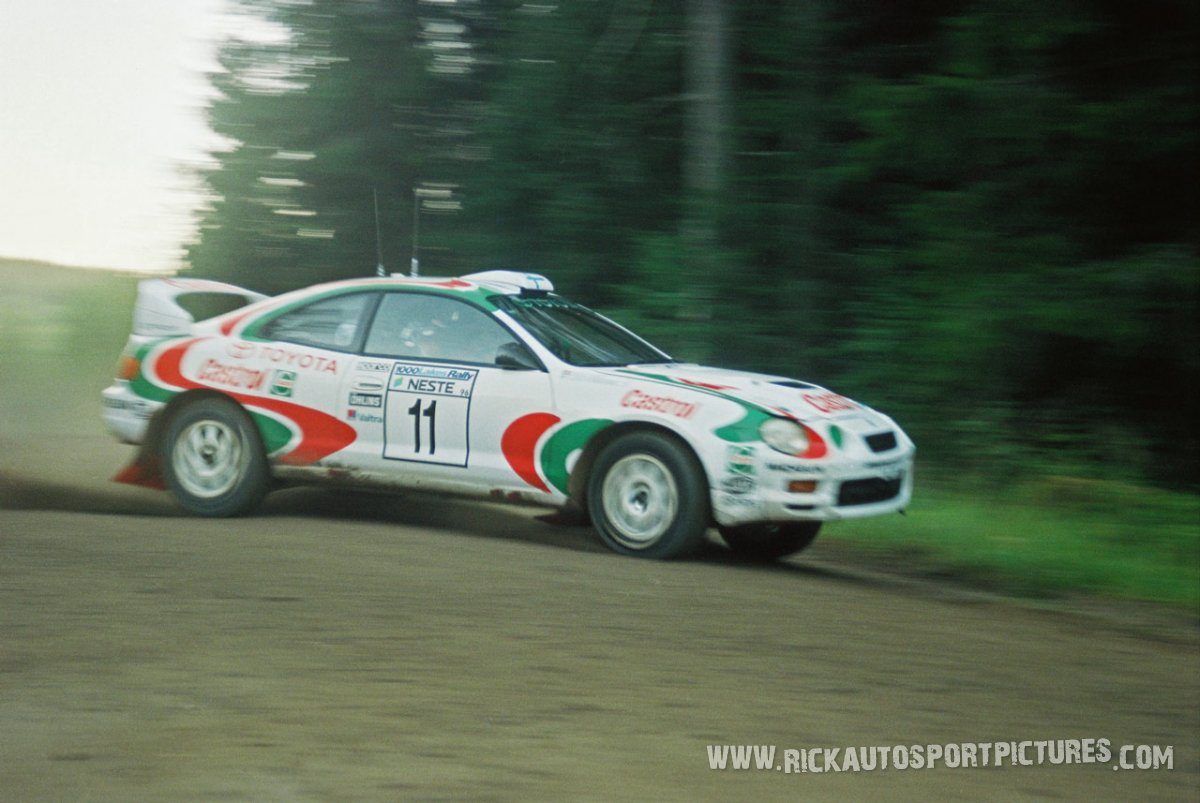 Juha Kankkunen 1000 Lakes 1996