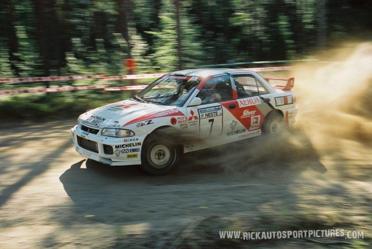Tommi Mäkinen 1000 Lakes 1996