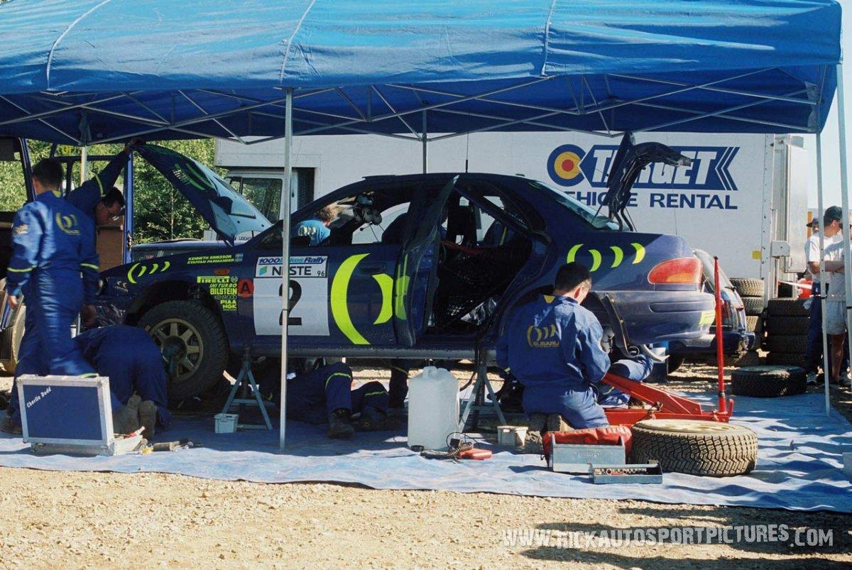 Prodrive Team Subaru 1000 Lakes 1996