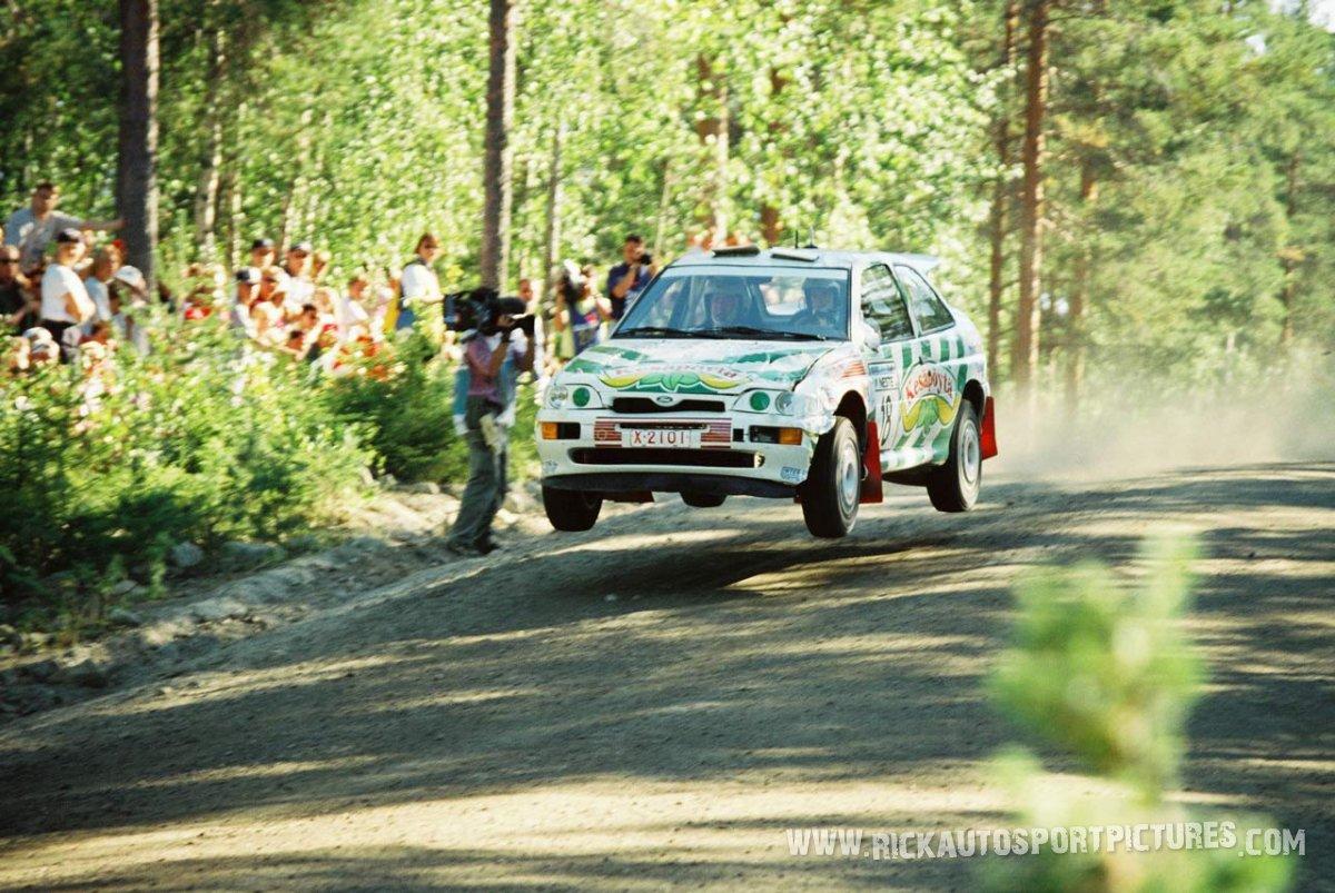 Harri Rovanperä 1000 Lakes 1996