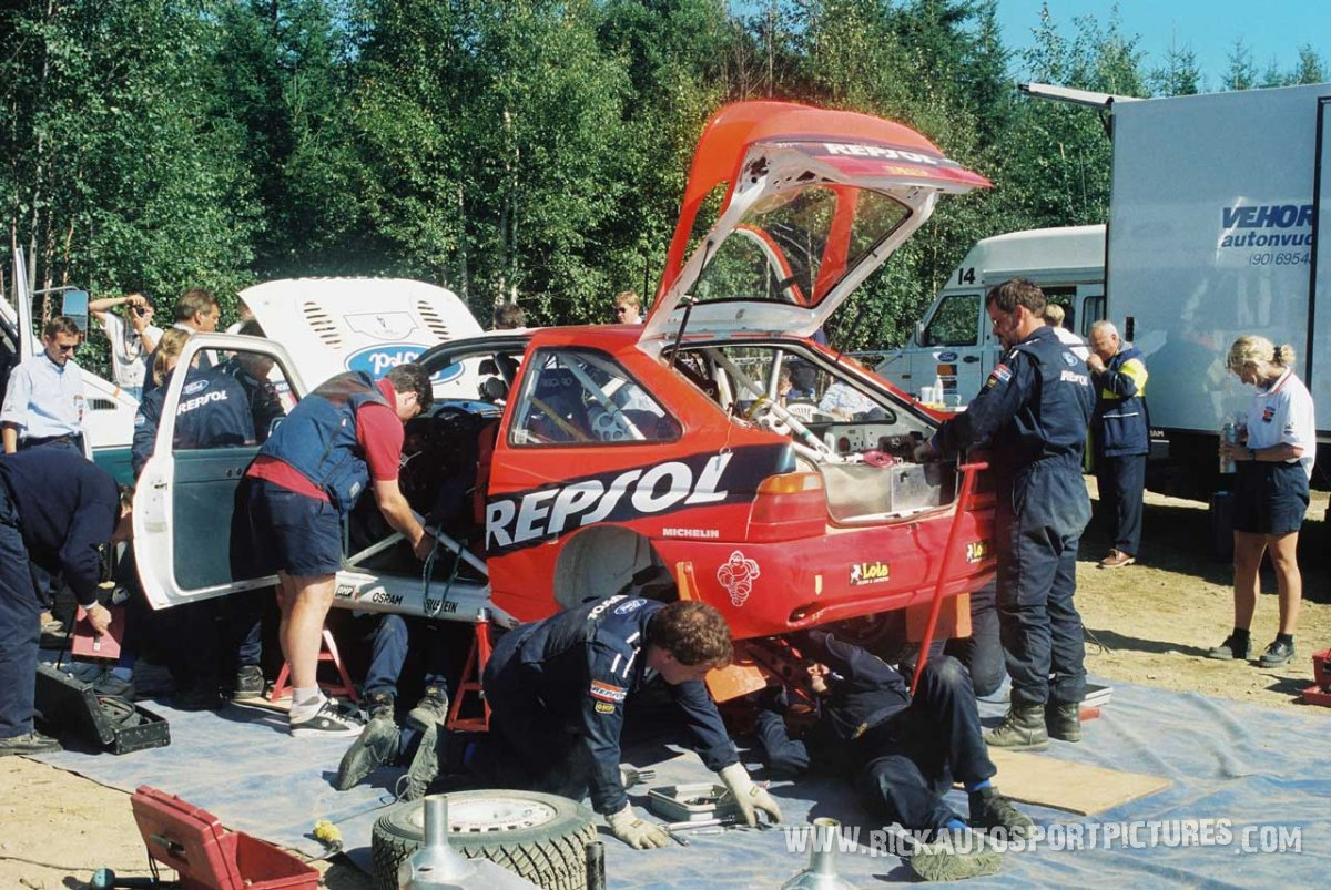 Ford World Rally Team 1000 Lakes 1996