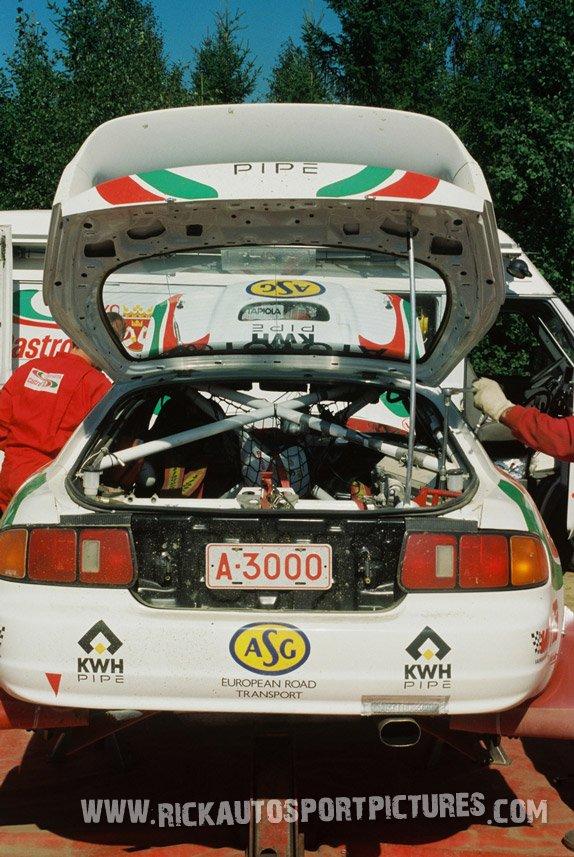 Team Toyota 1000 Lakes 1996