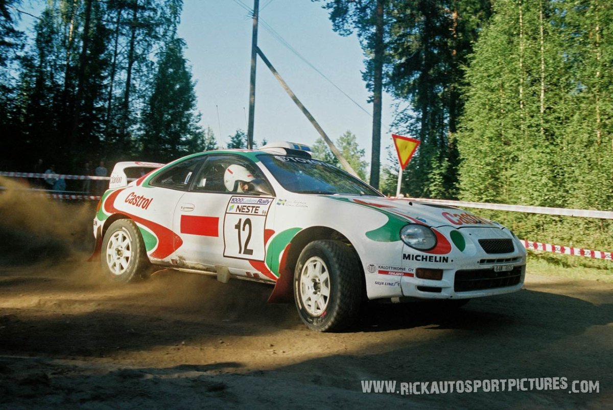 Thomas Radström 1000 Lakes 1996