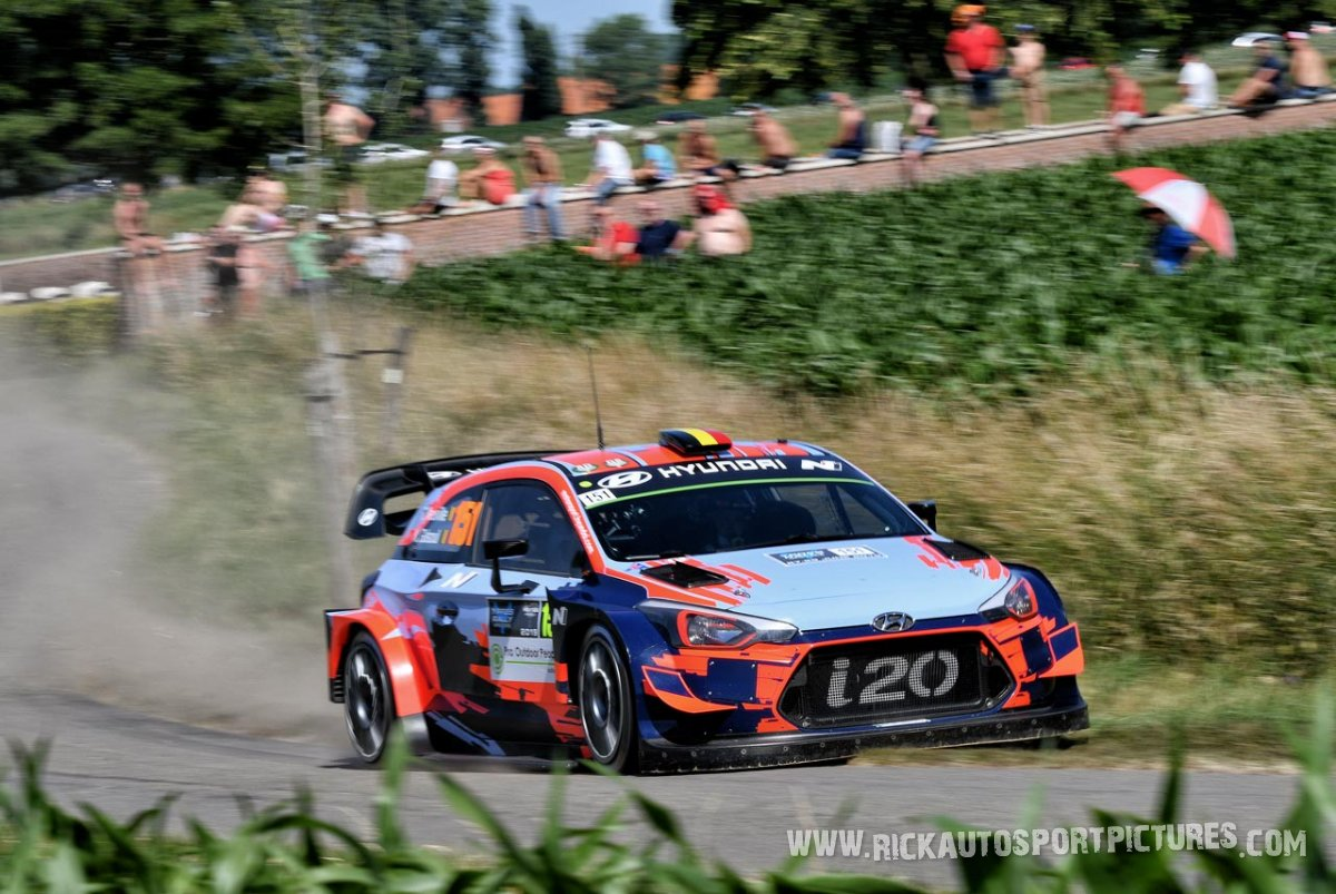Thierry Neuville Ypres Ieper Rally 2019