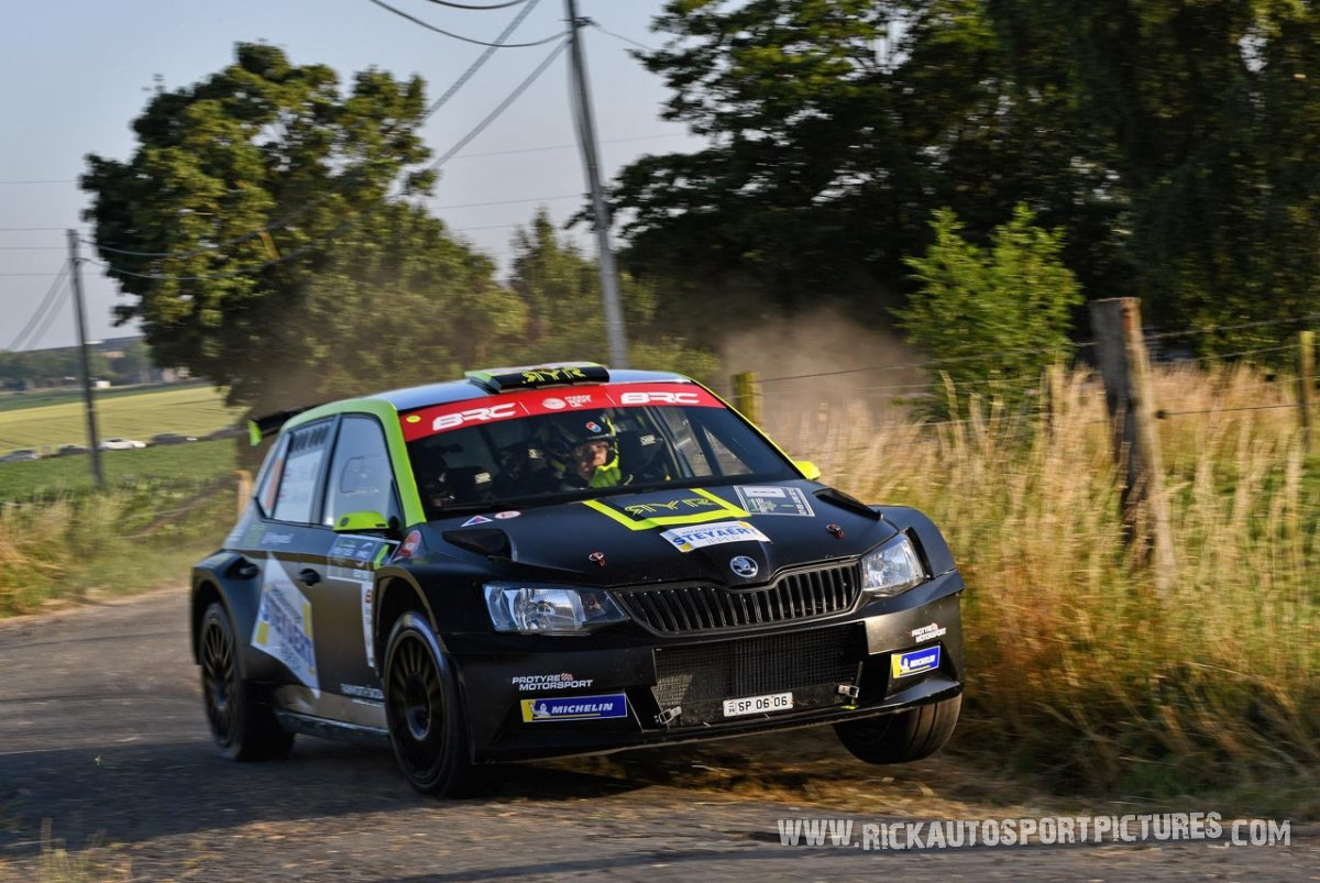 Rhys Yates ypres ieper rally 2019
