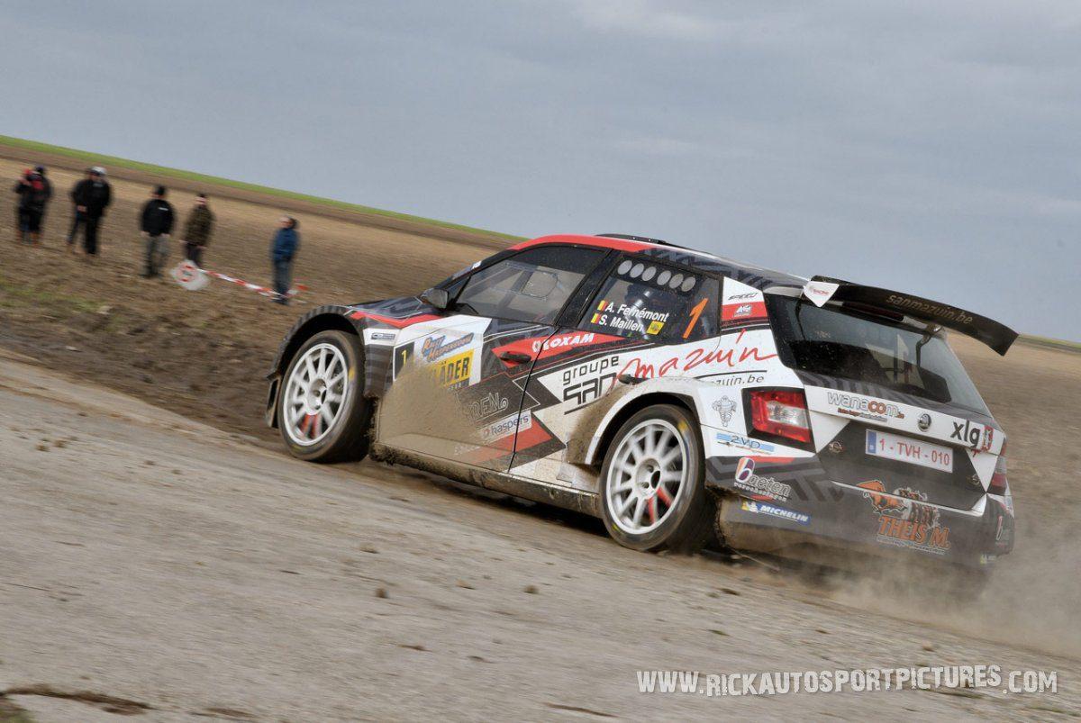 Adrian Fernemont Haspengouw Rally 2020