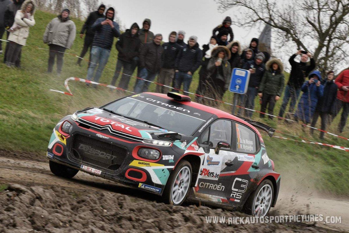 Guillaume de Mevius Haspengouw Rally 2020