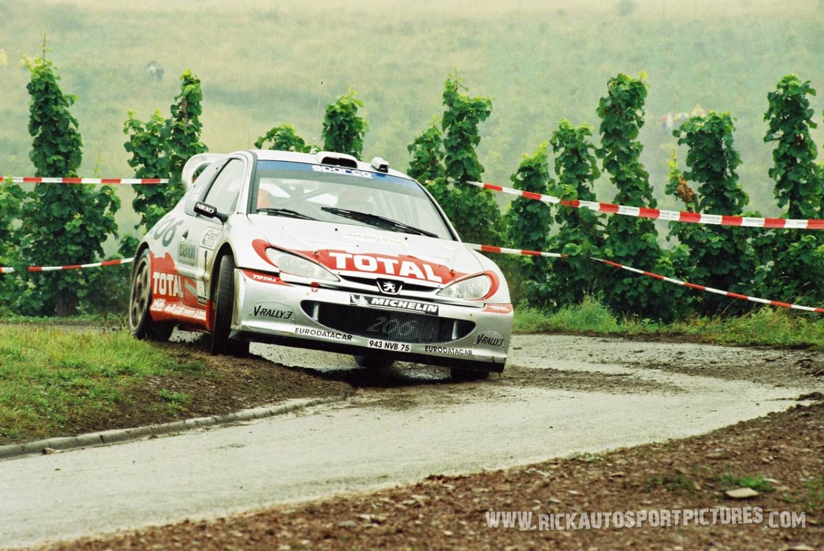 Richard Burns Deutschland Rally 2002
