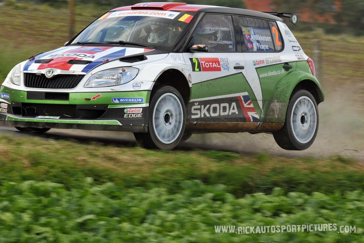 Andreas Mikkelsen, Ypres Ieper Rally 2012