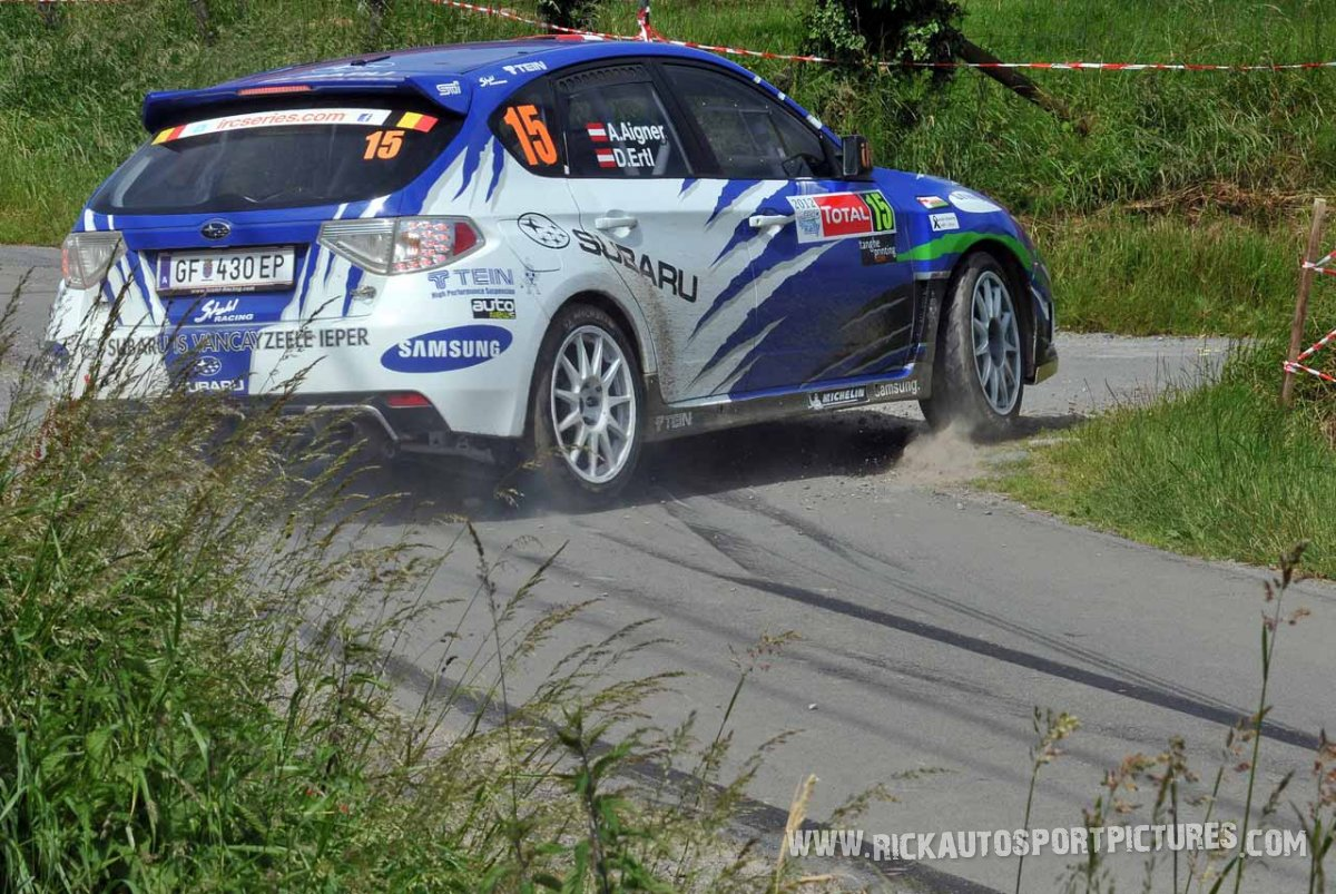 Andreas Aigner ypres ieper rally 2012