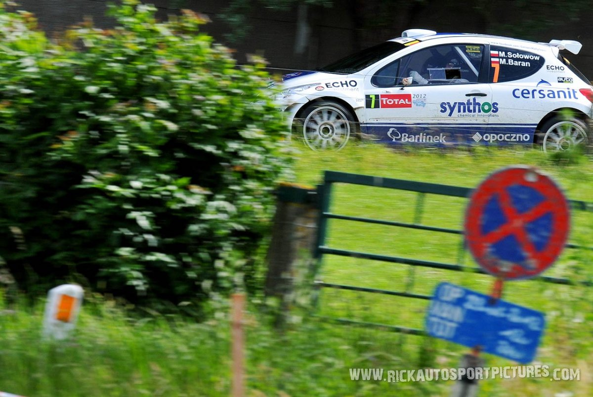 Michal Solowow Ypres ieper rally 2012