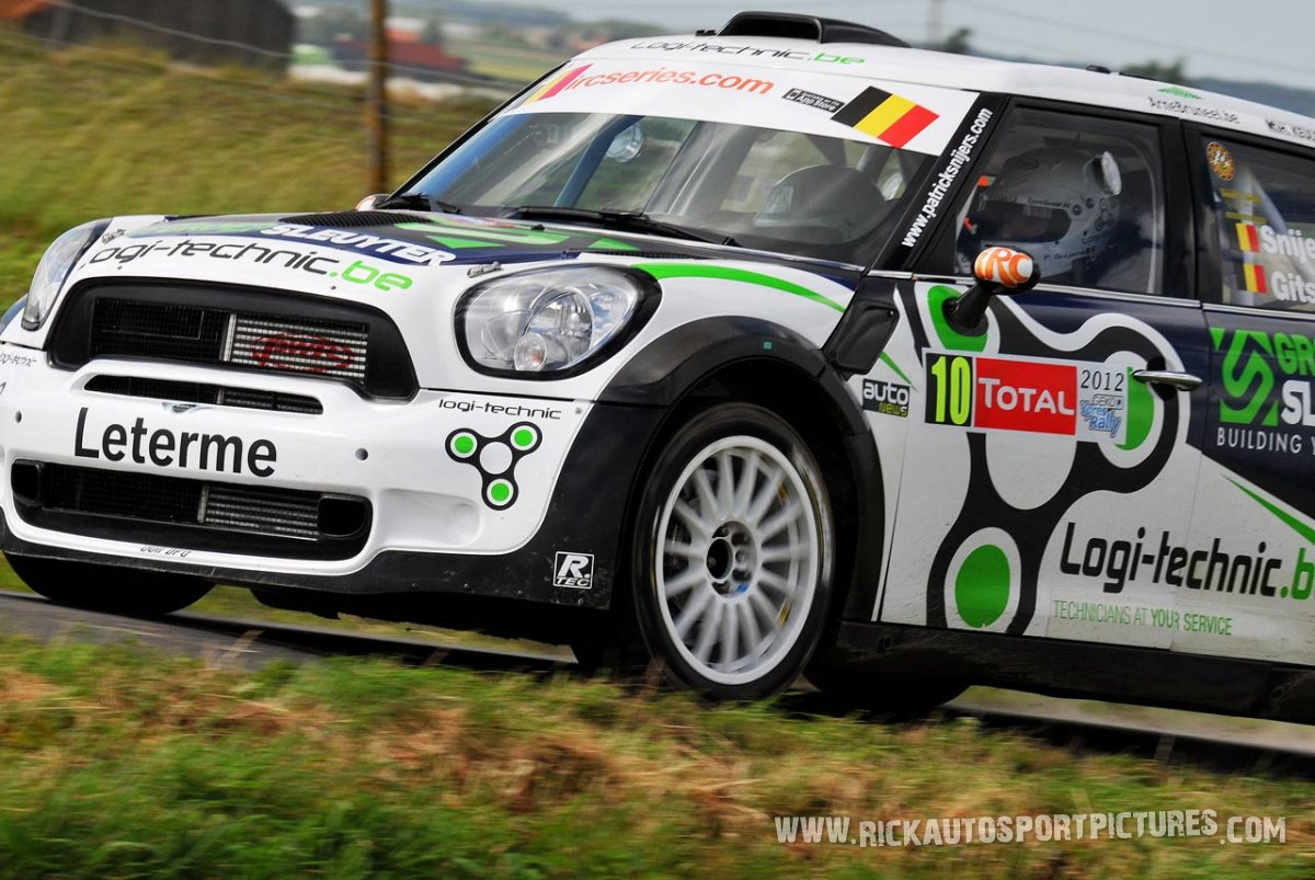 Patrick Snijers Ypres Ieper Rally 2012