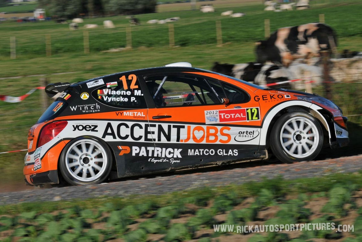 Mathias Viaene ypres ieper rally 2012