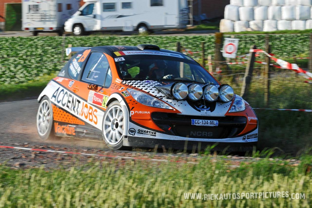 Philip Cracco Ypres ieper rally 2012