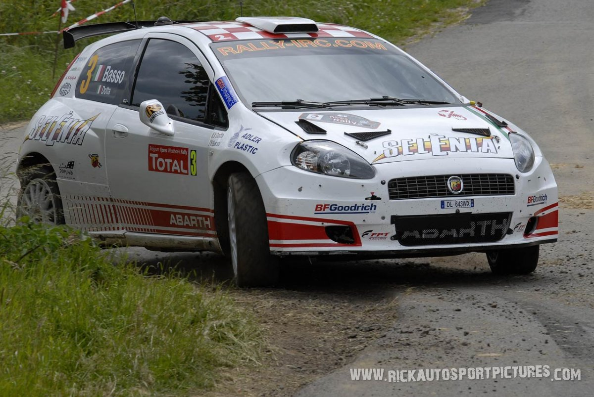 Giandomenico Basso Ypres Ieper Rally 2009