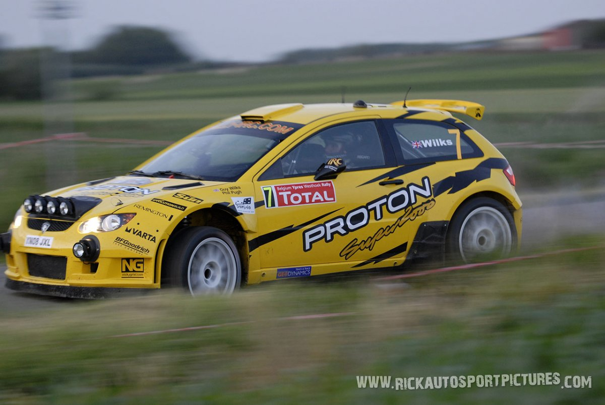 Guy Wilks Ypres Ieper Rally 2009