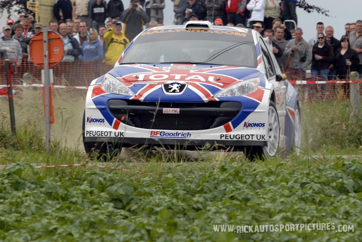 Kris Meeke Ypres Ieper Rally 2009