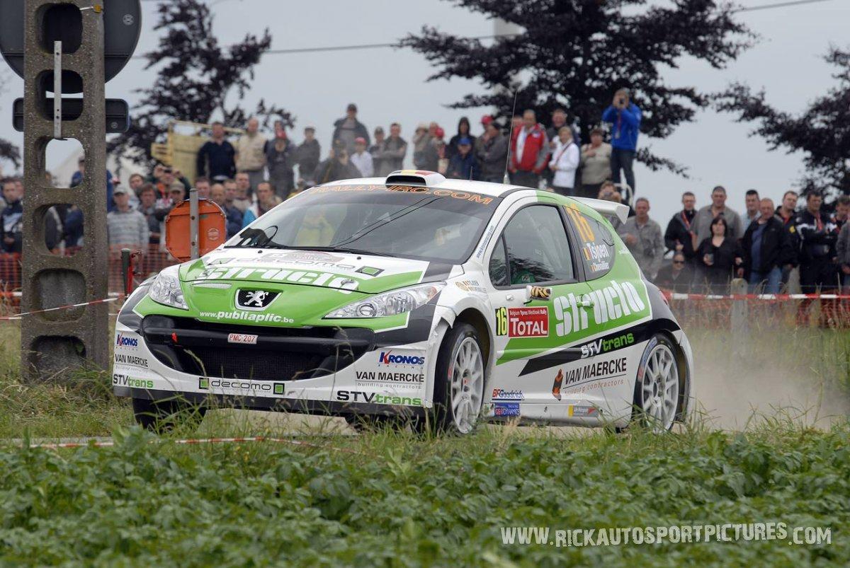 Pieter Tsjoen Ypres Ieper Rally 2009