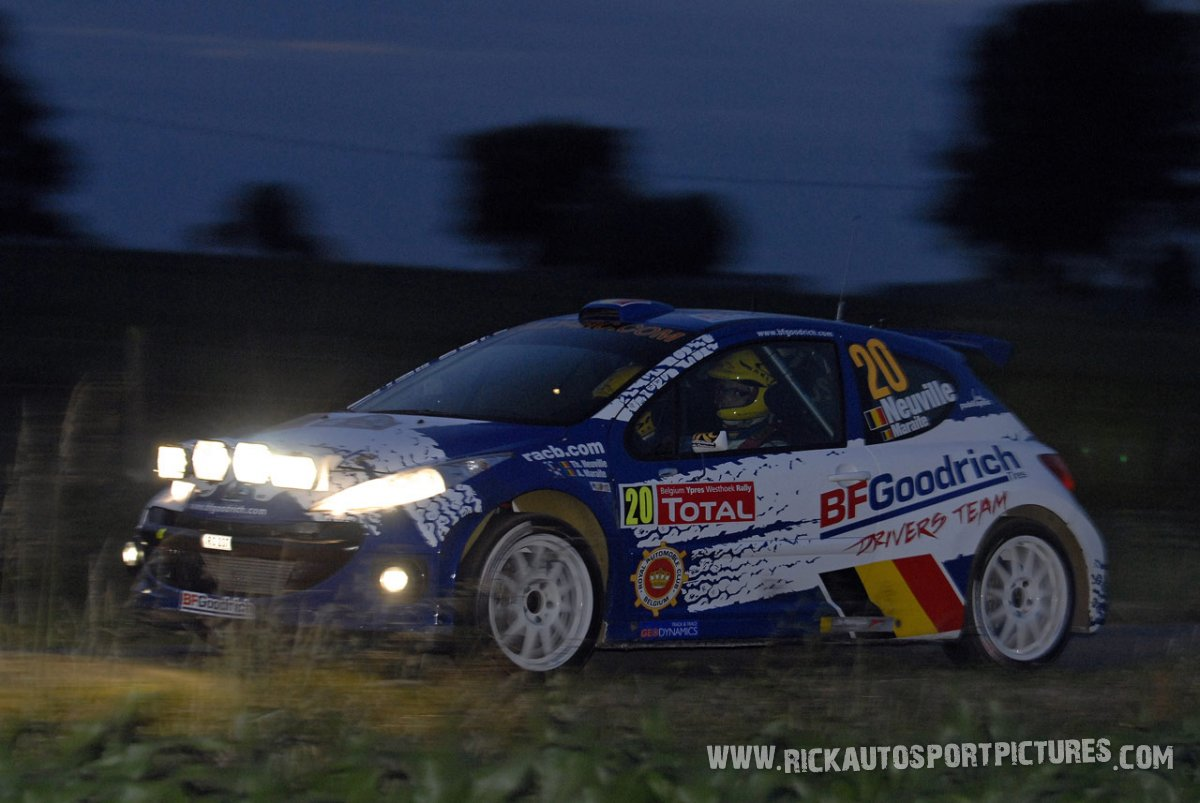 Thierry Neuville Ypres Ieper Rally 2009