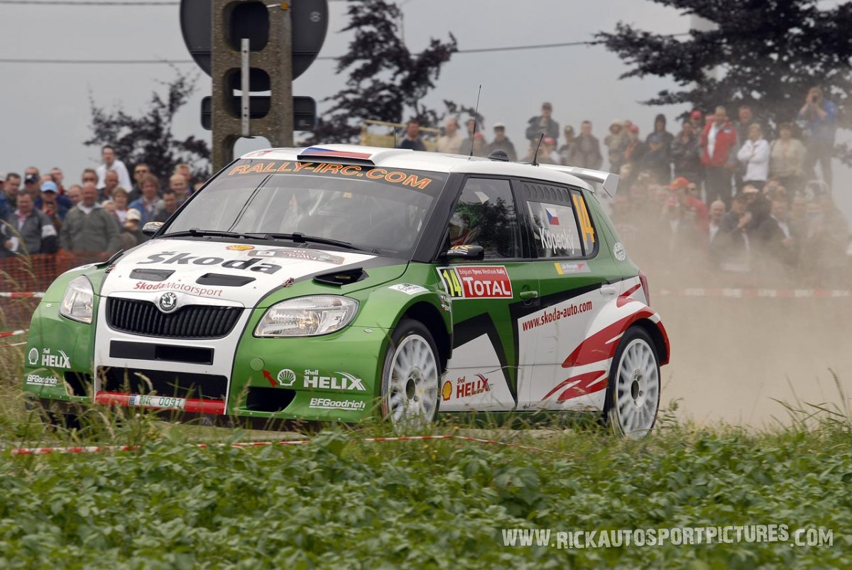 Jan Kopecky Ypres Ieper Rally 2009