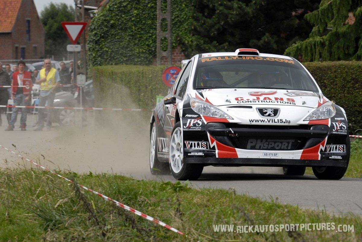 Gilles Schammel Ypres Ieper Rally 2009