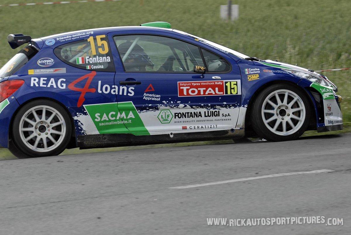 Corrado Fontana Ypres Ieper Rally 2009
