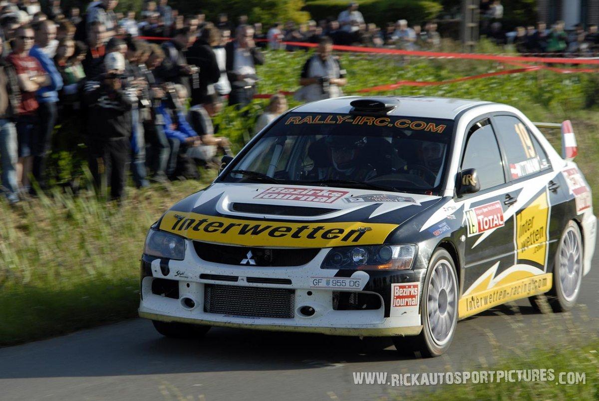 Franz Wittmann jr. Ypres Ieper Rally 2009
