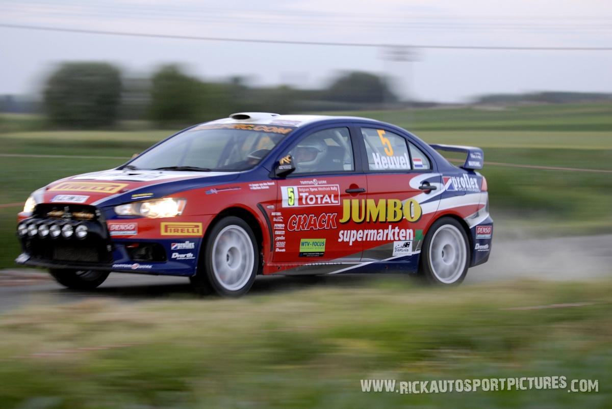 Jasper van den Heuvel Ypres Ieper Rally 2009