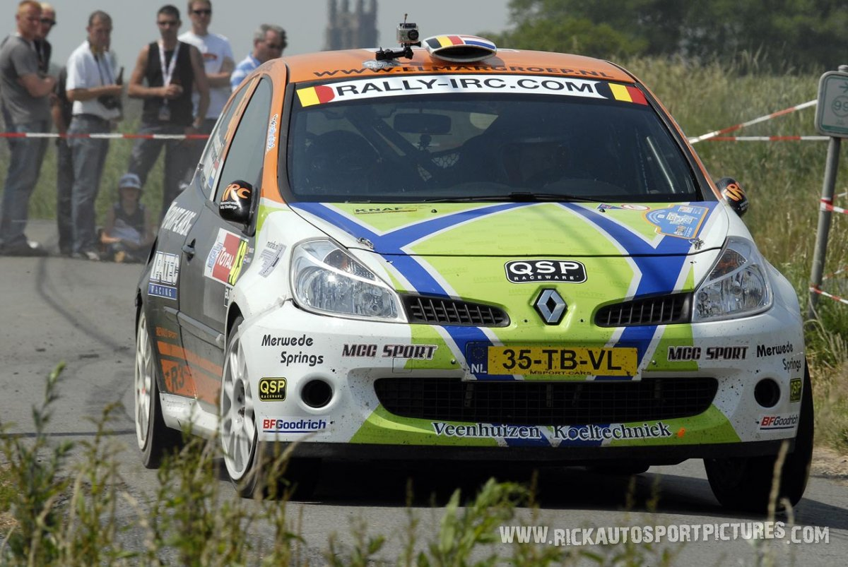 Kevin Abbring Ypres Ieper Rally 2010