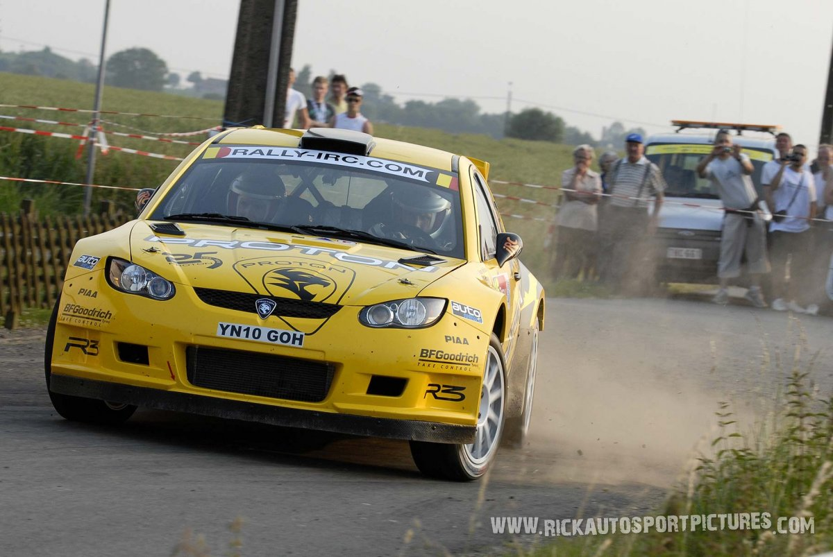 Alister McRae Ypres Ieper Rally 2010