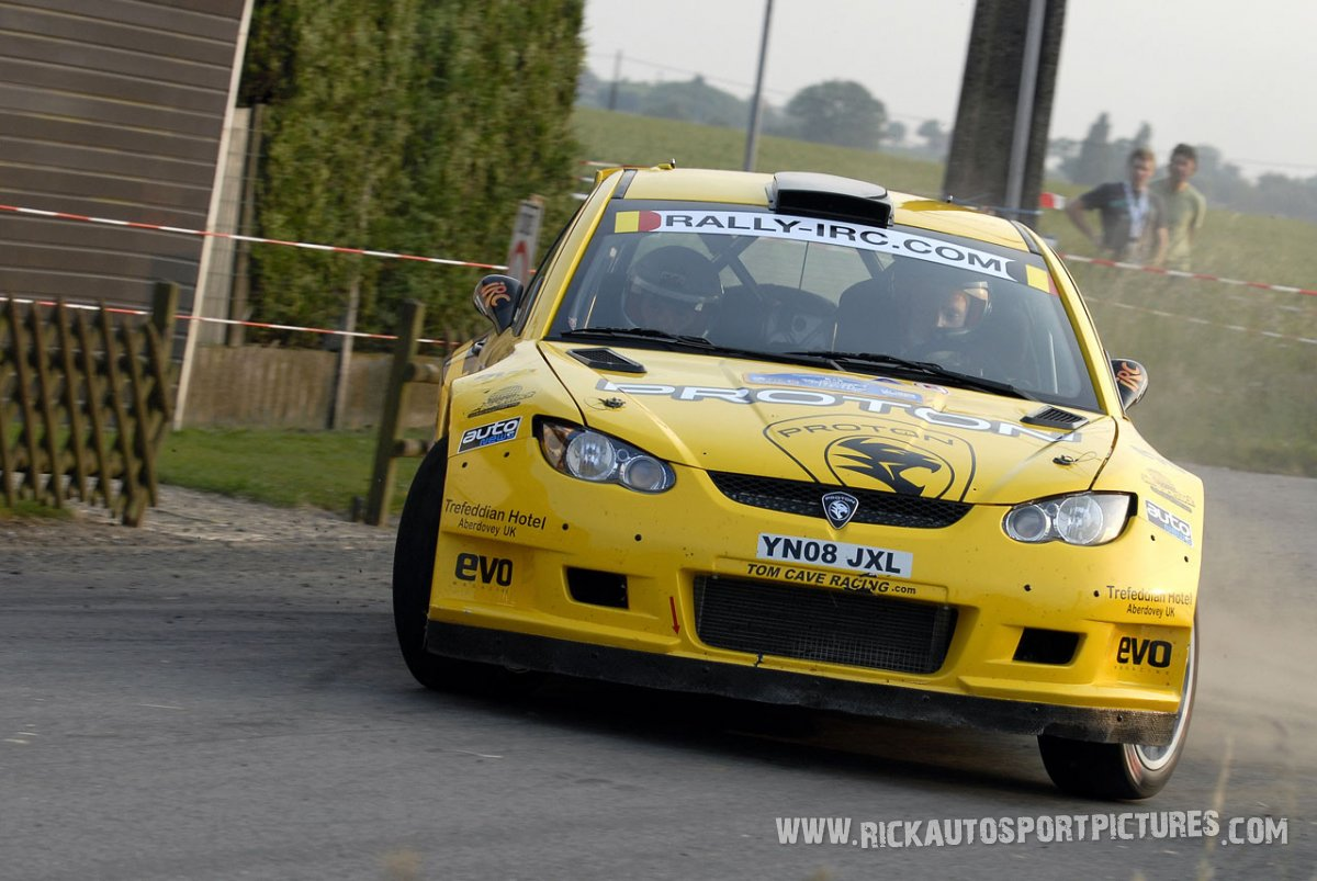 Tom Cave Ypres Ieper Rally 2010