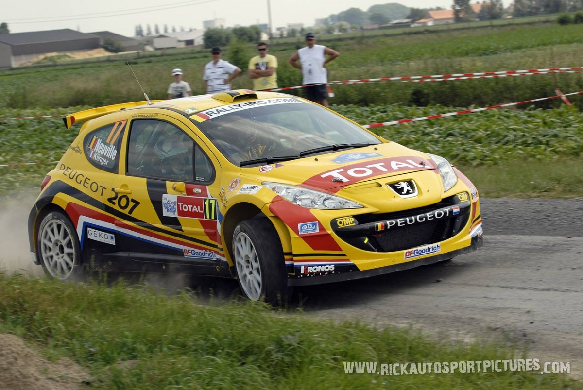 Thierry Neuville Ypres Ieper Rally 2010