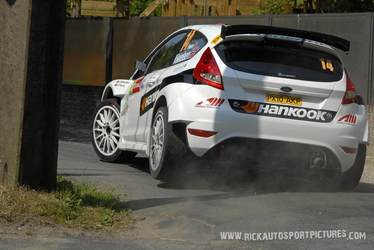 Andreas Mikkelsen, Ypres Ieper Rally 2010