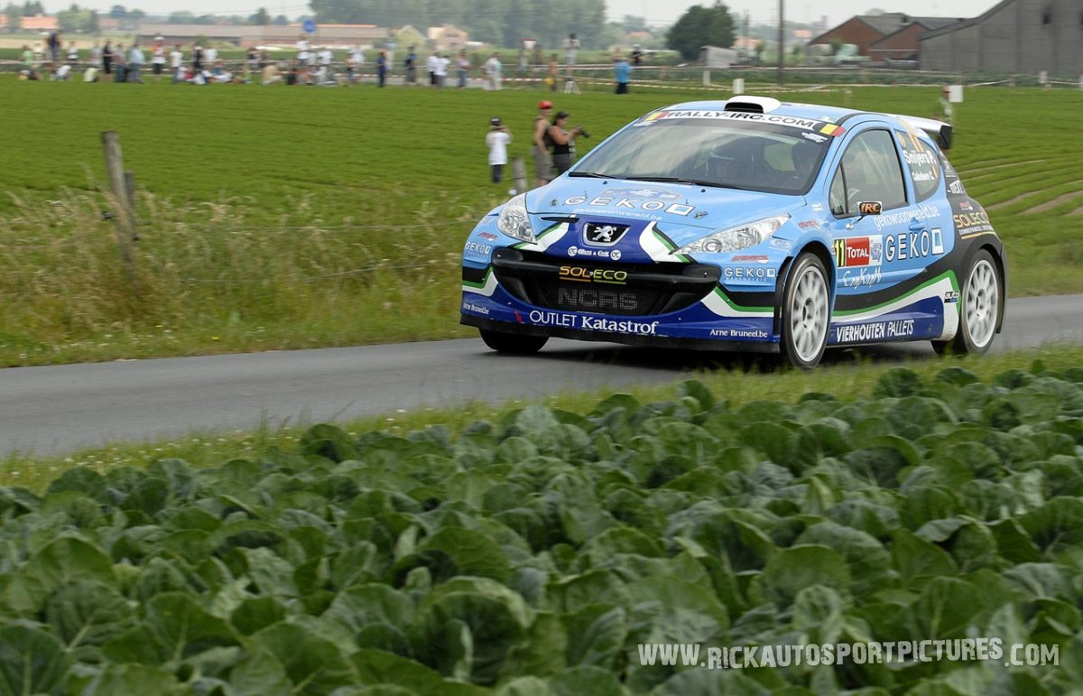 Patrick Snijers Ypres Ieper Rally 2010