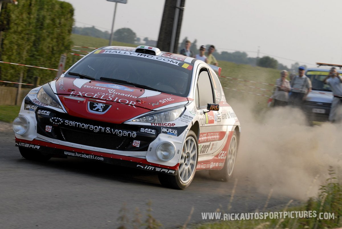 Luca Betti Ypres Ieper Rally 2010