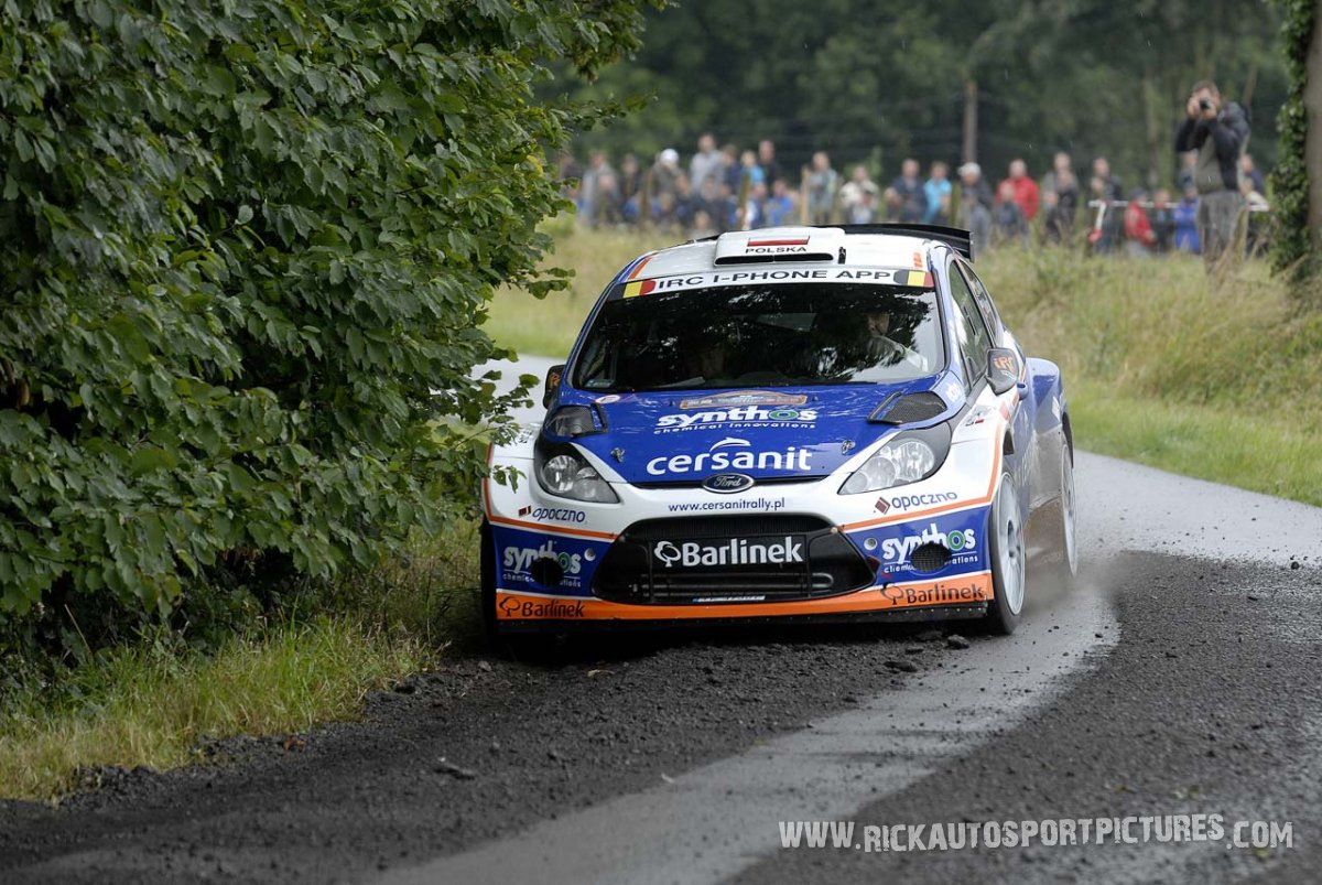 Michal Solowow Ypres ieper rally 2011
