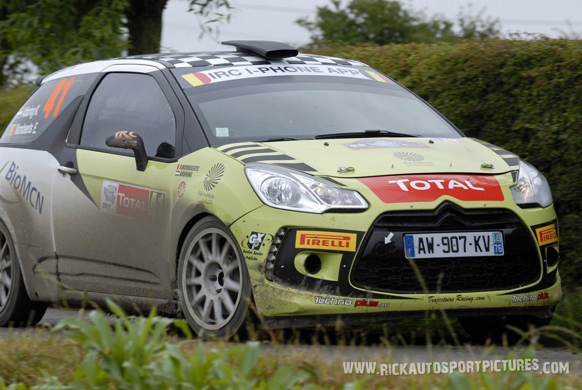 Kevin Abbring Ypres ieper Rally 2011
