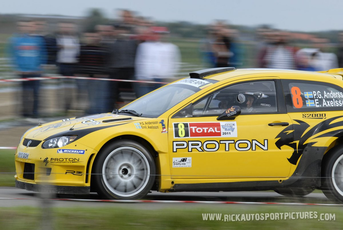 Per-Gunnar Andersson Ypres Ieper Rally 2011