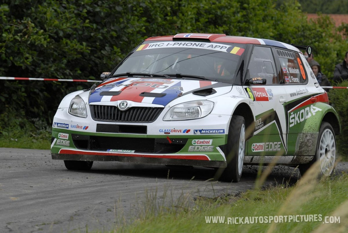 Andreas Mikkelsen, Ypres Ieper Rally 2011